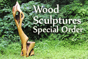 wood sculptures special order