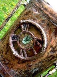 白砂勝敏スチームパンク楽器ハンドドラム 鉄の詩2
