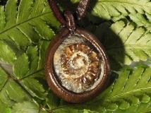 白砂勝敏 鉱物ジュエリー アンモナイト