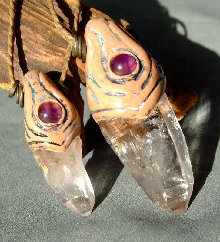 白砂勝敏 鉱物ジュエリーヒマラヤ水晶