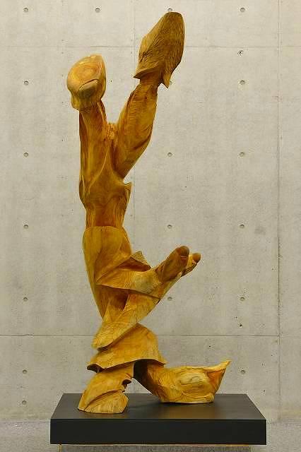 一木彫刻 白砂